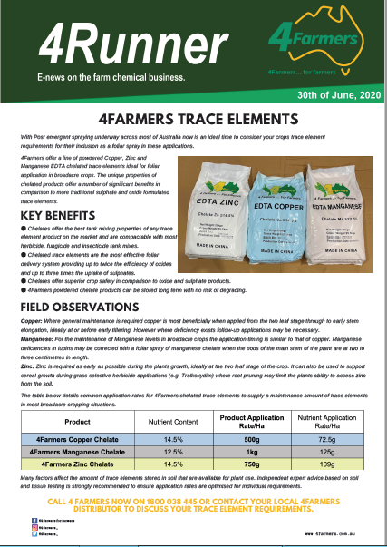 4Farmers Trace Elements